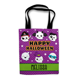 Kawaii Ghost Halloween Trick or Treat Bag