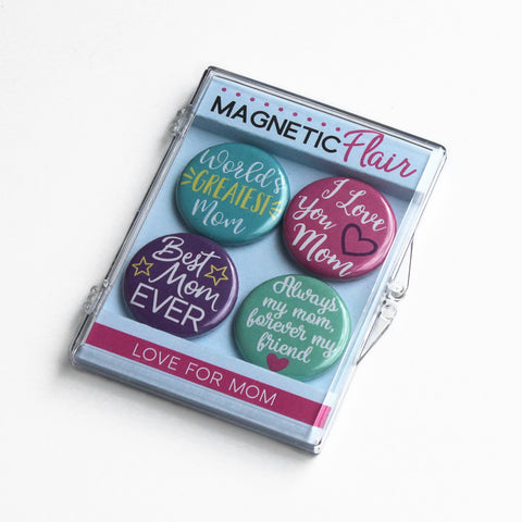 Best Mom Ever Magnet Set