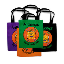 Pumpkin Halloween Trick or Treat Bag