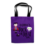Vampire Halloween Trick or Treat Bag