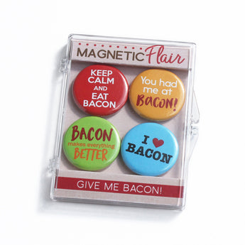 Bacon Lover Magnet Set