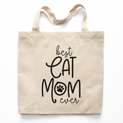 Best Cat Mom Ever Tote Bag