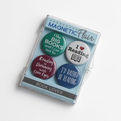 Book Lover Magnet Set
