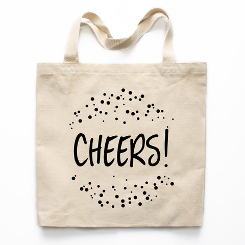 Cheers Canvas Tote Bag