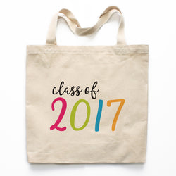 Class of 2017 Graduation Canvas Tote Bag