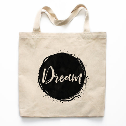 Dream Canvas Tote Bag