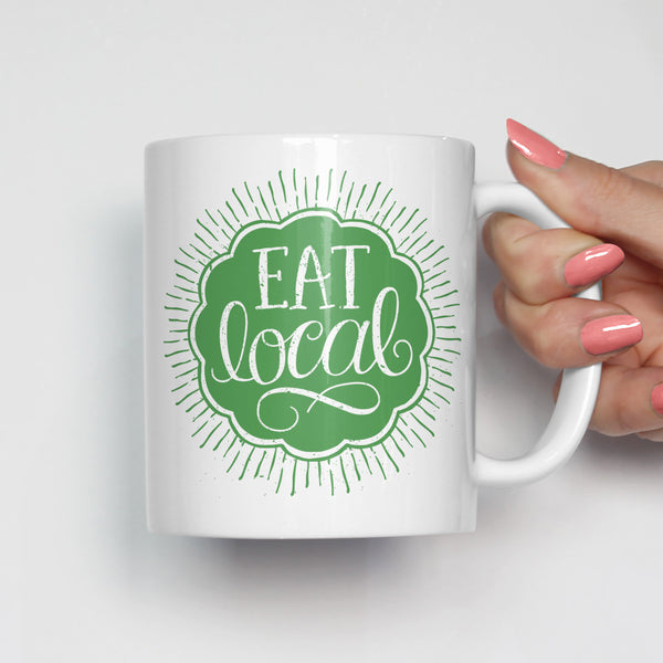 Eat Local Farmer's Market Mug