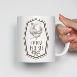 Farm Fresh Eggs Farmer's Market Mug