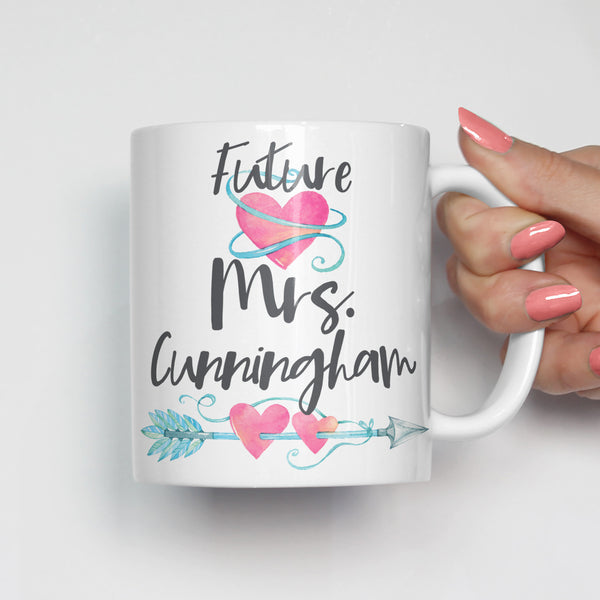Future Mrs Engagement Mug