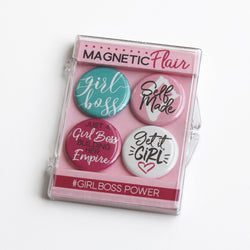 Girl Boss Power Magnet Set