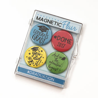 #Graduation Magnet Set