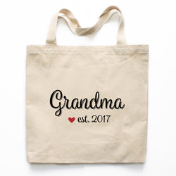 Grandma Canvas Tote Bag
