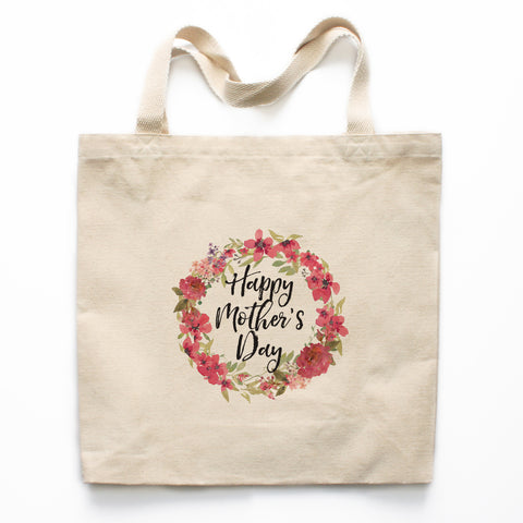 Happy Mother's Day Canvas Tote Bag