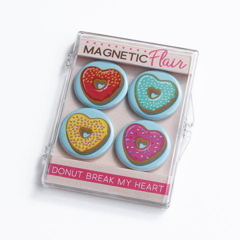 Donut Break My Heart Magnet Set