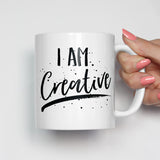 I Am Creative Motivational Mug