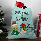 Mermaid Santa Sack - Santa Gift Bag
