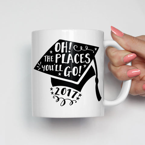 Oh The Places You'll Go Graduation Mug