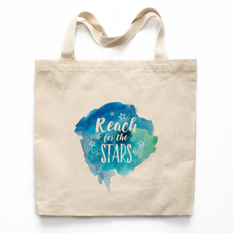 Reach For The Stars Canvas Tote Bag