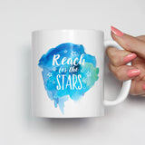 Reach for the Stars Motivational Mug