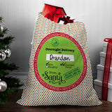 Big Dots Santa Sack - Santa Gift Bag