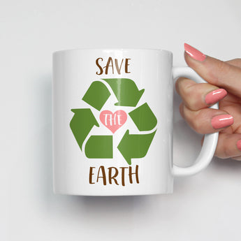 Save the Earth Mug