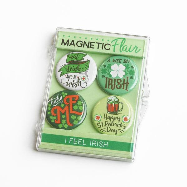 A Wee Bit Irish St. Patrick's Day Magnet Set