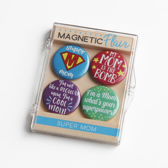 Super Mom Magnet Set