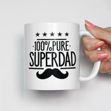Pure Super Dad Mug