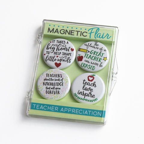 Teacher Appreciation Magnet Set