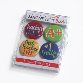 Teachers Rule Magnet Set