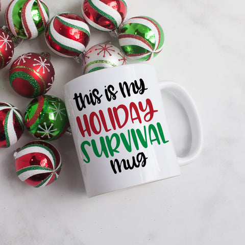 This is My Holiday Survival Mug