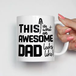 This is What an Awesome Dad Looks Like Mug