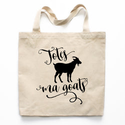 Totes Ma Goats Canvas Tote Bag