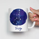 Virgo Zodiac Constellation Mug