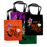 Witch Halloween Trick or Treat Bag