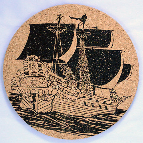 Pirate Booty Large Trivet