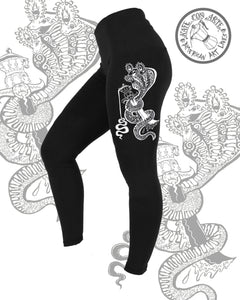 3 Headed Snake leggings
