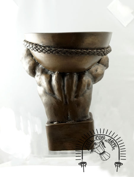 Atlas Candle Holder