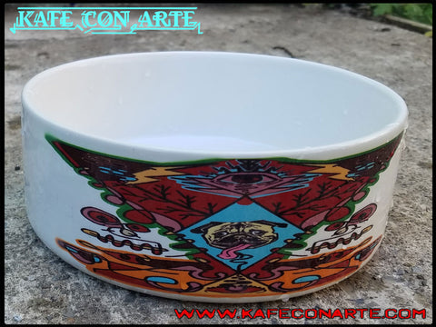 Aztec Dog Bowl