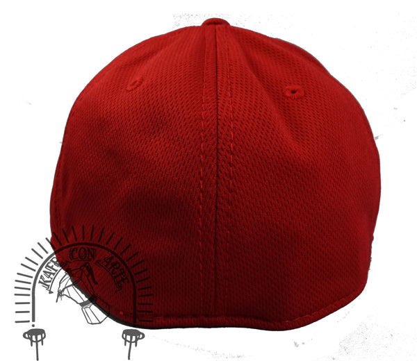 Jersey City Flex Hat Red