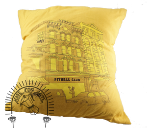 Fitness Club Pillow