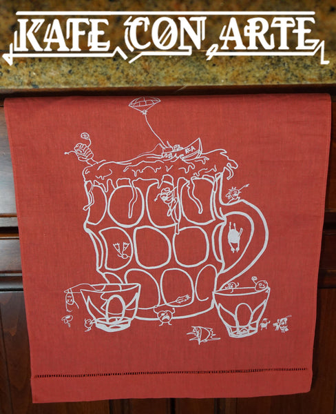 Beer Mug Towel