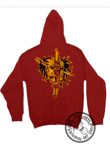 Death Of Self Hoodie Zip Up