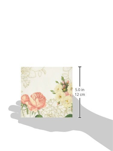 Talking Tables Blossom & Brogues Floral Paper Napkins for a Wedding or Tea Party, Multicolor
