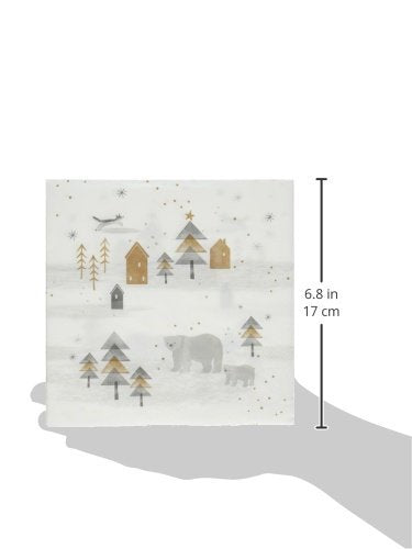 Talking Tables Nordic Christmas Paper Table Napkins Multicolor