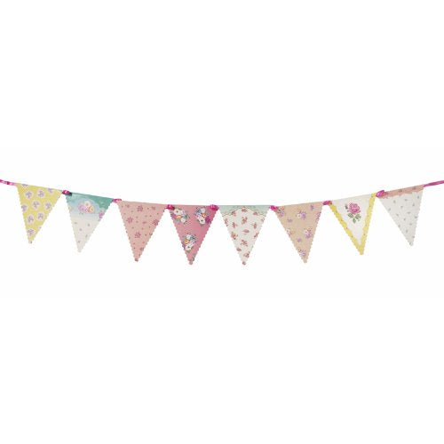 Talking Tables Truly Scrumptious Floral Hanging Garland for a Tea Party, Wedding or Birthday, Multicolor