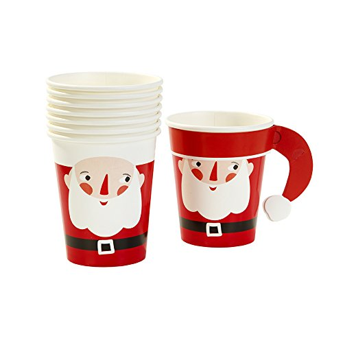 Talking Tables Waiting For Santa Christmas Party Bundle | Premium Plates, Napkins, and Cups for a Festive Holiday Party