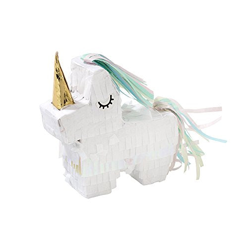 Talking Tables We Heart Unicorns Mini Unicorn Pinata for Children's Party or Birthday Party (5-Pack)