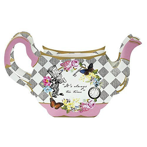 Talking Tables Truly Alice Teapot Vase Table Decoration For A Tea