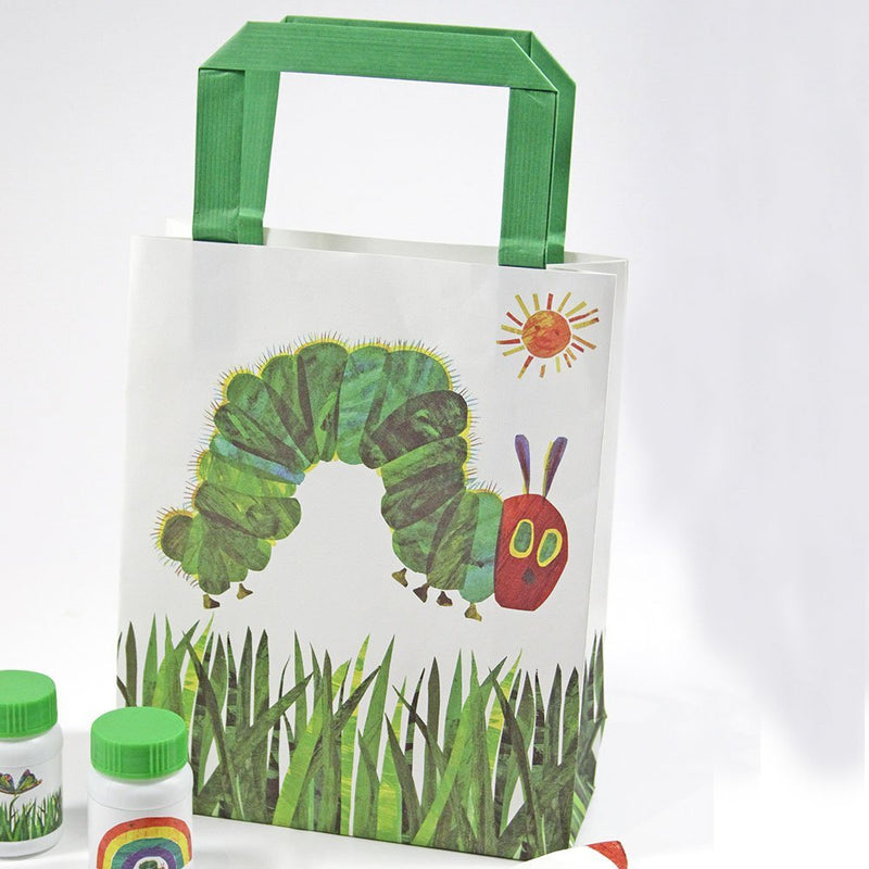 Talking Tables The Very Hungry Caterpillar Paper Treat Bags, Multicolor